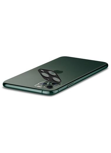 Spigen iPhone 11 Pro Max / 11 Pro Kamera Lens Cam Ekran Koruyucu, Full Cover (2 Adet) Yeşil